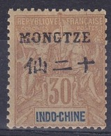 Mong-tzeu   N°9** - Mong-tzeu (1906-1922)