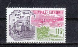 Nouvelle-Calédonie YT PA 301 ** : Locomotive , Train ,viaduc - 1993 - Unused Stamps