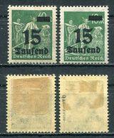 D. Reich Michel-Nr. 279a-b Ungebraucht - Geprüft - Ungebraucht