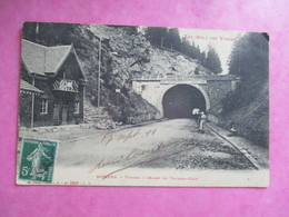 CPA 88 BUSSANG TUNNEL ET CHALET DU TOURING CLUB - Bussang