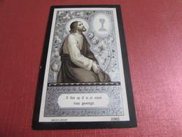 DOODSPRENTJE MARIA DE BOEY - Images Religieuses