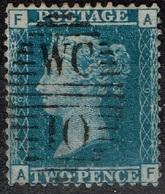 Grande-Bretagne - 1858 - Y&T N° 27, Cancel WC 10 - 1840-1901 (Victoria)