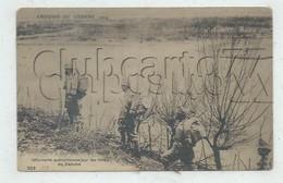 Hainburg An Der Donau (Autriche, Basse-Autriche) : GP De L'infanterie Autrichienne Sur Les Bords Danube 1914 (animée) PF - Bruck An Der Leitha