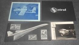 Lot 26 Cartes / Cartons De Voeux & Autres :::: Base Aérienne - Avons - Aviateurs - Elicoptère - Aviations - Construteurs - 1946-....: Modern Era