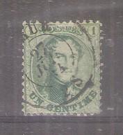 COB 13 - Dent.12.5 - Oblitération Double Cercle - Obl/gest/used (à Voir) - 1863-1864 Medallions (13/16)