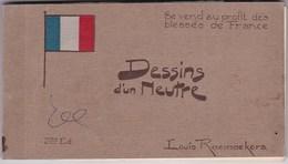 CP Carnet Complet Louis Raemaekers 3e Edition Dessin D'un Neutre - Petit Prix ! Themes : Religion Guerre - Autres Illustrateurs