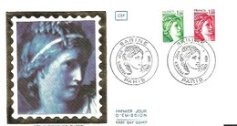France-FDC-1980 - Yt  2101/2102 - Sabine - FDC