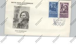 ROMANIA - 1951, Michel 1272 / 73 FDC, Miners, Bergbau - Cartas