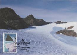3500   Maxima, Kingston Tas, 1996,  Australian Antarctic Territory , Territorio Antártico Australiano - Maximum Cards