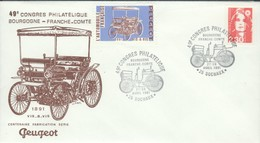 Peugeot - Le Vis-à-vis - Centenaire Fabrication Série - 1891/1991  Avec Vignette - Automobili