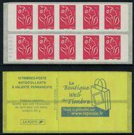 France // Carnets // Carnet Neuf, Non Plié No. 3744-C2 Type Marianne De Lamouche - Carnets