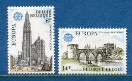Belgique - YT N° 1886 Et 1887 - Neuf Sans Charnière - 1978 - Belgique