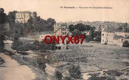 BEYROUTH-BEIRUT-LIBAN-LIBANON  Vue Prise De L'Orphelinat Kélékian Syria-Libanon (Voir état Verso) - Líbano