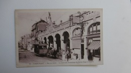 Le Touquet Paris-plage ** La Gare Des Tramways De Paris-plage à étaples ** - Le Touquet