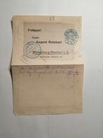 Deutsches Reich  Feldpostbrief  Festungs Lazarett - Allemagne
