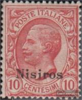 Ägäische Islands 5VII Unmounted Mint / Never Hinged 1912 Print Edition Nisiros - Aegean (Nisiro)