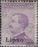 Ägäische Islands 9VI Unmounted Mint / Never Hinged 1912 Print Edition Lipso - Aegean (Lipso)