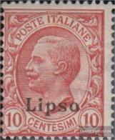 Ägäische Islands 5VI Unmounted Mint / Never Hinged 1912 Print Edition Lipso - Aegean (Lipso)