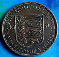 JERSEY : 1/12th Of A SHILLING 1931 KM 16 HIGH GRADE - Jersey