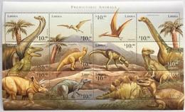 Liberia 1999**Mi.2595-2606  Prehistoric Animals , MNH  [14;4] - Briefmarken