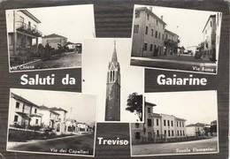 SIRTORI-LECCO-SALUTI DA-SALUTI DA(5 IMMAGINI)-CARTOLINA VERA FOTOGRAFIA-VIAGGIATA IL 8-2-1962 - Treviso