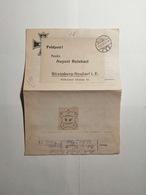 Deutsches Reich  Feldpostbrief  1917 - Briefe U. Dokumente