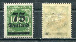 D. Reich Michel-Nr. 288II Ungebraucht - Geprüft - Ungebraucht