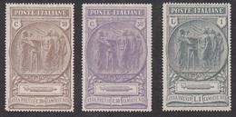 ITALIA REGNO 1923 CAMICE NERE   SASSONE S.27  MLH - Mint/hinged