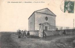 BREUILLET - Temple Du Billeau - Autres Communes