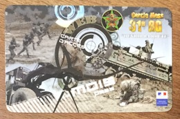 ARMÉE 3ème RGP RÉGIMENT DU GENIE SOLDAT MILITAIRE CARTE PASSMAN 1 MOIS WIFI TÉLÉCARTE PHONECARD - Armée