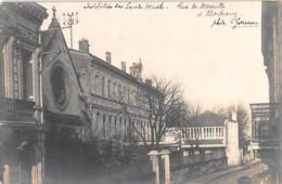 BORDEAUX - Carte Photo Institution Des Sourds Et Muets - Rue De Marseille - Bordeaux