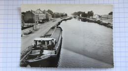Pont , Peniche, Canal, Ecluse, GEEL . - Belgique