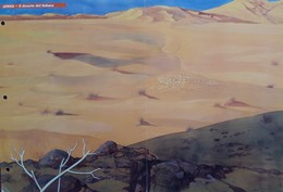 Gioco Di Creazione Compositiva Con Trasferelli. 16 Animali D'Africa Da Trasferire Nei Loro Ambienti: Deserto E Savana. - Loisirs Créatifs