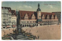 Leipzig Altes Rathaus Feldpost 1917 Aachen - Leipzig Lindenau - Leipzig