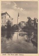SACILE-PORDENONE-DAL PONTE DELLA VITTORIA-CARTOLINA VIAGGIATA IL 6-1-1947 - Pordenone