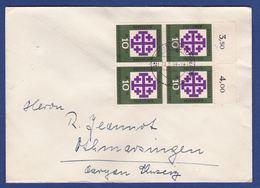 Brief Mehrfachfrankatur MiNr. 314, Bogenrand (aa0166) - [7] Federal Republic