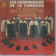 """45 Tours EP - LES COMPAGNONS DE LA CHANSON - CBS 6296 - """" C'EST MA CHANSON """" + 3 - Vinyles"""