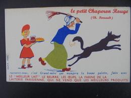 BUVARD - LE PETIT CHAPERON ROUGE - CHARLES PERRAULT - Papel Secante
