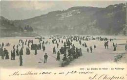 25 - Doubs - Le Doubs En Hiver - Le Patinage - Animée - Voir Scans Recto-Verso - France