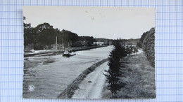 Pont , Peniche, Canal, Ecluse, BREE . - Belgique