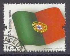Portugal - 2007 Flag, Drapeau, Symbol Of The Republic, Used - Oblitérés