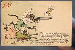 Potage  Maggi - Singes Humanisés - Lapin - Illustrateur Vimar - Publicidad