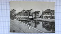 Pont , Peniche, Canal, Ecluse, SAINT-GHISLAIN . - Belgique