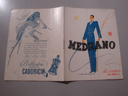 PROGRAMME CIRQUE DE PARIS MEDRANO 1948/1949 CLOWNS FRATELLINI - Programmes