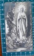 NB 214 Madonna Lourdes SANTINO Monocromo Bromuro - Devotion Images
