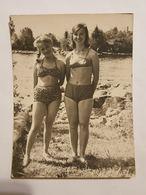Photo Vintage. L'original. Erotica. Fille En Maillot De Bain. - Nus Ethniques