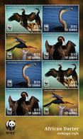 Gambia, 2014. Birds, WWF (s]s) - W.W.F.