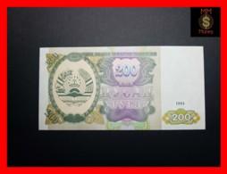 TAJIKISTAN 200 Rubles  1994  P. 7  UNC - Tadschikistan