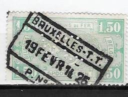 148 Brussel - T.T. Met Perforatie V.C. - Bahnwesen