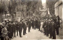 21 SANTENAY Inauguration Du Monument Aux Morts Carte Photo CHANDIOUX Verdun Sur Le Doubs - Autres Communes